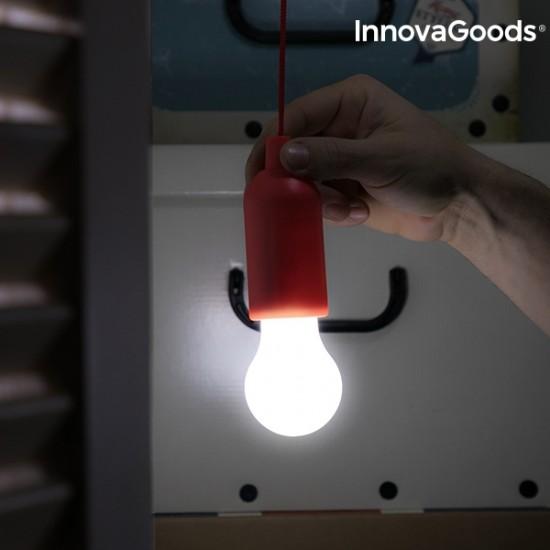 Baterijska viseča led svetilka