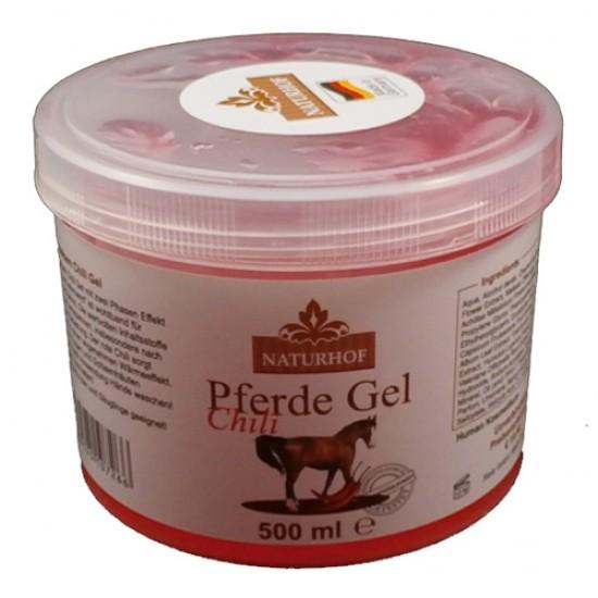 Konjski gel z čilijem 500 ml