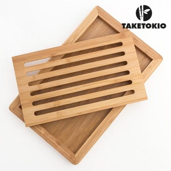 Lesena deska za rezanje kruha