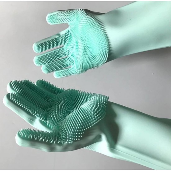 Silikonske rokavice za čiščenje Cleansy