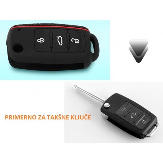 Silikonska prevleka za zaščito VW ključev