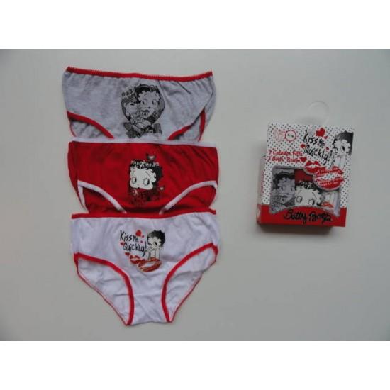 3 x spodnje hlače Betty Boop