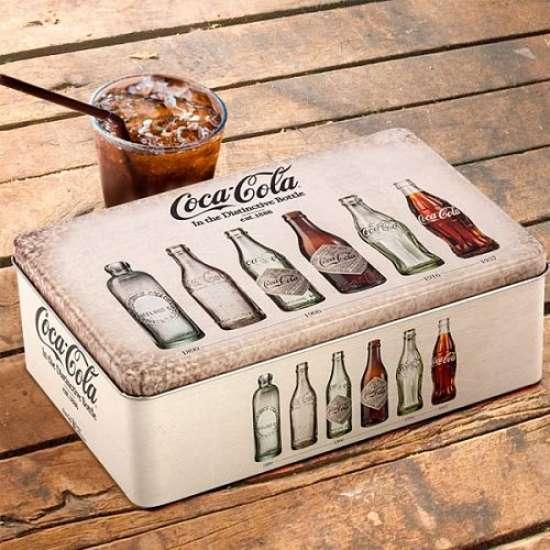 Coca-cola retro škatla za shranjevanje