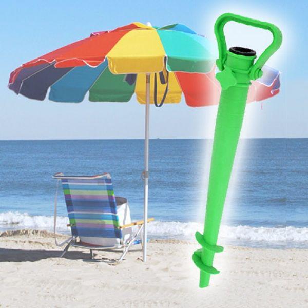 Držalo za plažni dežnik