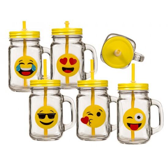 Emoji steklenica za varno pitje