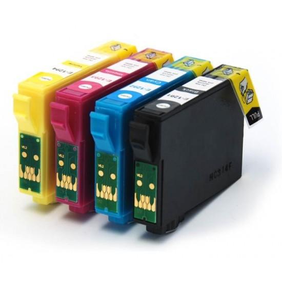 T1281 - T1284 komplet 4 kartuš - za Epson SX 125,130, 235, 420, 430