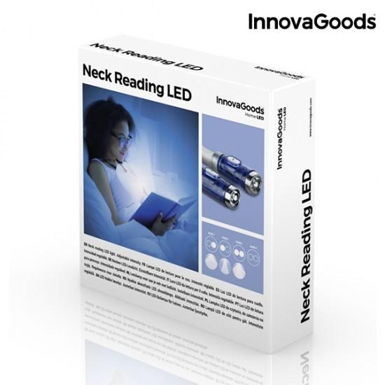 LED bralna lučka za okoli vratu