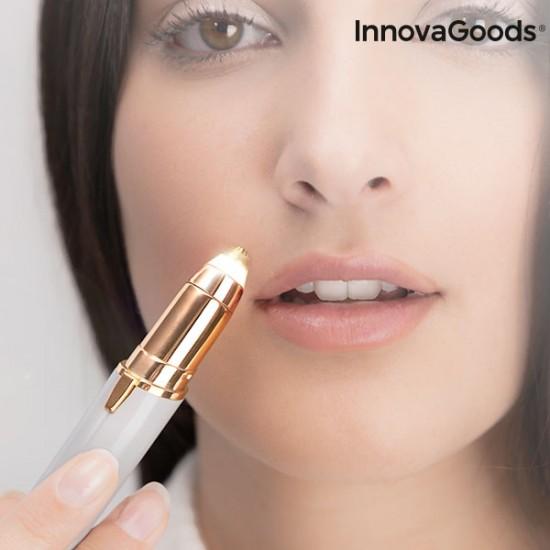 Precizni obrazni depilator z LED lučko InnovaGoods Wellness Beauté