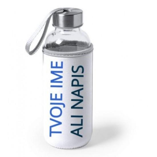 Steklenica za vodo iz stekla 420 ml Unikatna