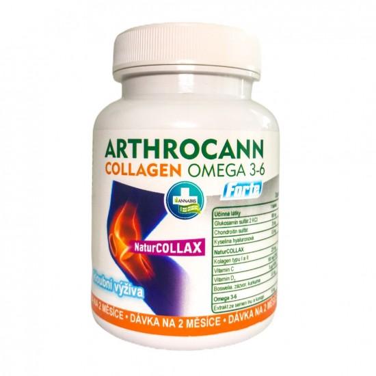 Arthrocann collagen omega 3-6 forte 60 kapsul