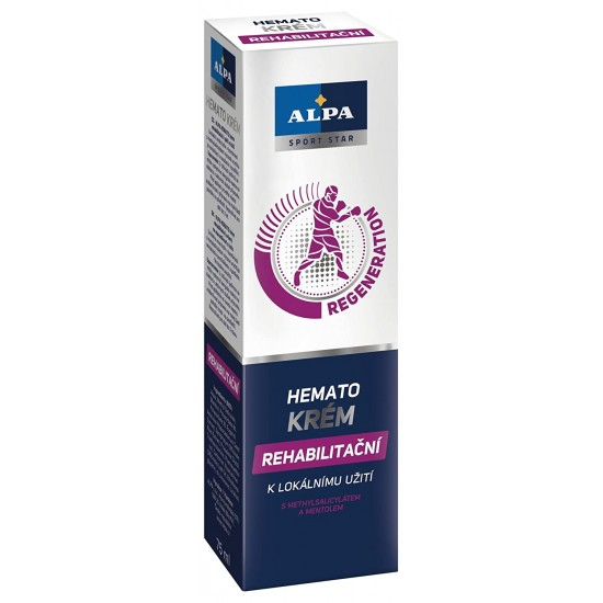 Alpa Hemato sport masažni gel 75 ml