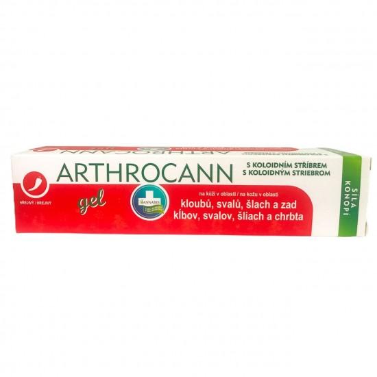 ARTHROCANN grelni gel za masažo sklepov in mišic 75 ML