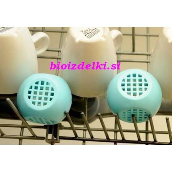 2 x Eko pralna krogla za pomivalni stroj Blue Marlin