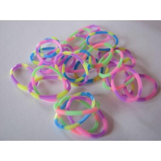 1025 delni set za izdelavo zapestnic (dvobarvne)