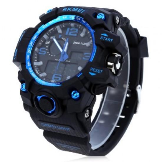Skmei MUDxtreme 11s55 Shock črno/modra