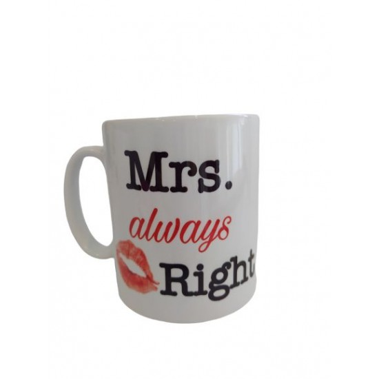 Skodelica za pare Mr. Right in Mrs. always right