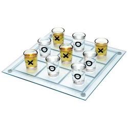 Pivska igra tri v vrsto Tic Tac Toe
