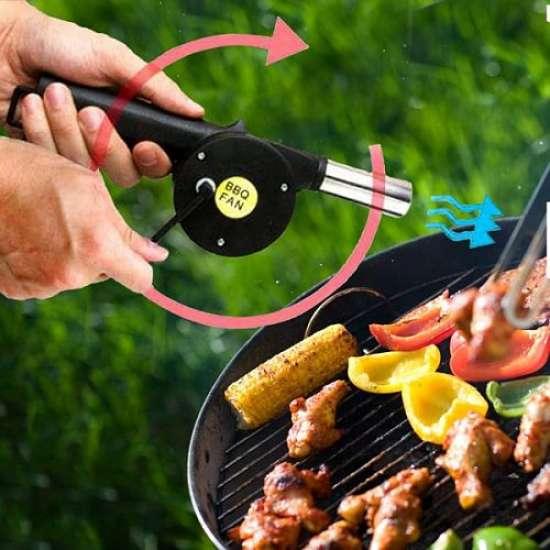 Ventilator (puhalnik) za roštilj žar